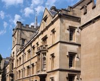 Oxford University, England Stock Photo