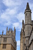 Oxford University in England Royalty Free Stock Images