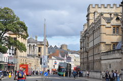 Oxford University in England Royalty Free Stock Photos