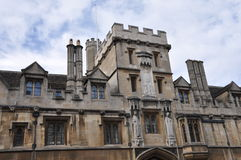 Oxford University in England Stock Photo