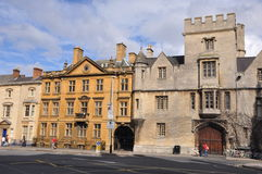 Oxford University in England Stock Photography