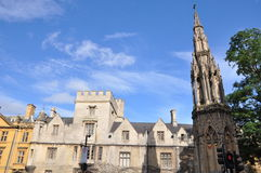 Oxford University in England Stock Photos