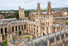 Oxford University, Medieval College Royalty Free Stock Photography