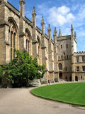 Oxford University, Medieval College Royalty Free Stock Photos
