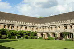 Oxford University, Medieval College Royalty Free Stock Image