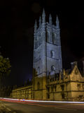 Oxford University. At night, united kingdom Royalty Free Stock Images
