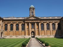 Oxford University, Royalty Free Stock Photos