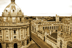 Oxford University`s All Soul`s College Stock Photo