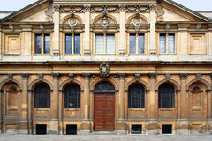 Oxford University, Sheldonian Theatre stock photo