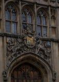 Oxford University. University in Oxford, United Kingdom Royalty Free Stock Photo