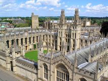 Oxford University's  All Souls College Royalty Free Stock Image