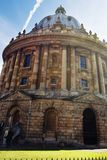 Oxford, Vereinigtes Königreich 13. Oktober 2018 - die Bodleian-Bibliothek, die Hauptforschungsbibliothek University of Oxfords, i lizenzfreie stockfotografie