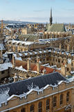Oxford in winter Stock Images