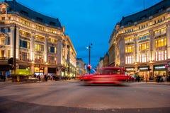 Oxford-Zirkus in London Lizenzfreies Stockbild