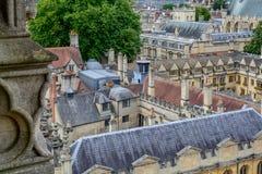 Oxford Zjednoczone Królestwo, Sierpień, - 21, miasto panorama na Sierpień 21, Obrazy Royalty Free