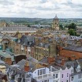 Oxford Zjednoczone Królestwo, Sierpień, - 21, miasto panorama na Sierpień 21, Fotografia Stock