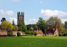 Oxfords garden royalty free stock image