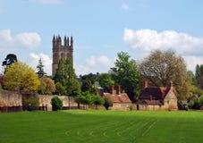 Oxfords Garten Lizenzfreies Stockbild