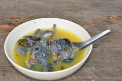 Oxgroda i kryddig lemongrasssoppa Royaltyfri Fotografi