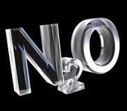 oxid för formler för kemi 3d glass salpeter- royaltyfri illustrationer