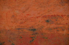 Oxidação alaranjada com riscos Fotografia de Stock