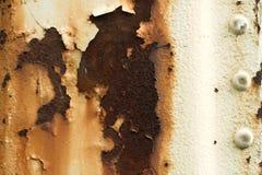 Oxidação amarela de Grunge Foto de Stock