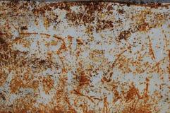 Oxidação & fundo do cinza azul Imagens de Stock