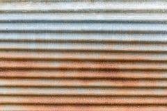 Oxidação da laranja da placa do zinco Fotos de Stock
