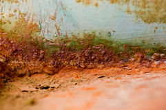 Oxidação do edifício Fotografia de Stock