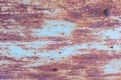 Oxidação do ferro com fundo da corrosão fotografia de stock