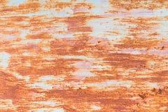 Oxidação do ferro com fundo da corrosão fotografia de stock royalty free