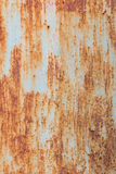 Oxidação do ferro com fundo da corrosão foto de stock royalty free