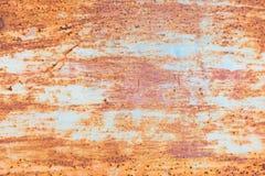 Oxidação do ferro com fundo da corrosão fotos de stock