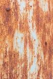 Oxidação do ferro com fundo da corrosão foto de stock