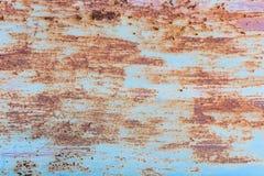 Oxidação do ferro com fundo da corrosão imagem de stock royalty free