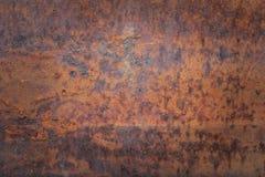 Oxidação do teste padrão velho do olhar do metal foto de stock