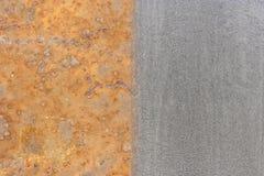 Oxidação e aço fotografia de stock