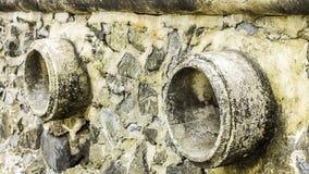 Oxidação e corrosão na pele da tubulação e do metal Corrosão do metal Oxidação dos metais imagens de stock