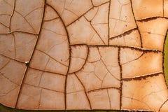 Oxidação e rachaduras Fotografia de Stock