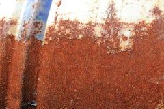 Oxidação em um cilindro de metal velho Foto de Stock Royalty Free