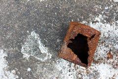 Oxidação enlatada imagens de stock