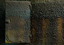 Oxidação na parte imagens de stock royalty free