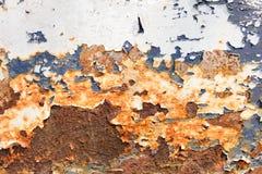 Oxidação no aço imagens de stock