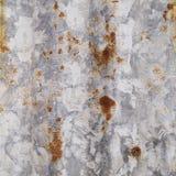 Oxidação no aço galvanizado Imagem de Stock Royalty Free