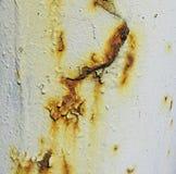 Oxidação no metal imagem de stock