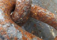 Oxidação no trabalho Fotografia de Stock