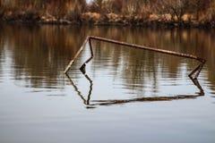 Oxidação refletida Imagens de Stock Royalty Free