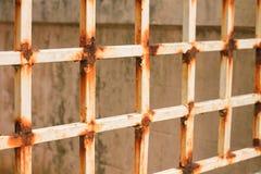 Oxidação velha do ferro do metal Imagens de Stock