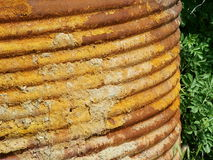 Oxidado! imagem de stock