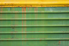 Oxidado e cor riscados do vagão velho imagens de stock royalty free